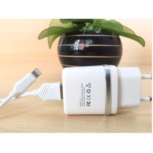 Hoco - bộ cóc cáp sạc c11 iphone- cổng apple lighting