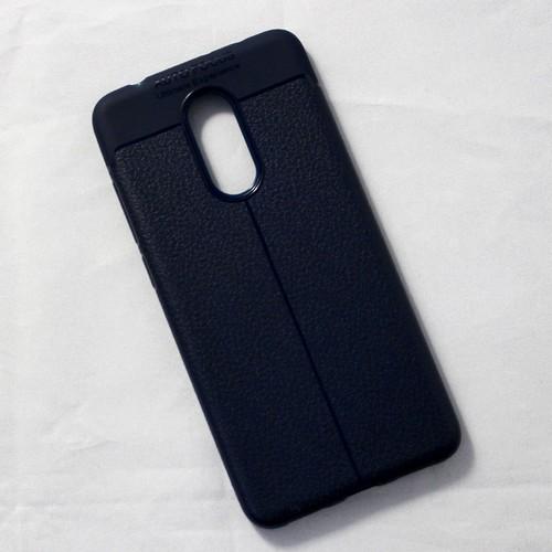 Ốp lưng sần Xiaomi Redmi 5 dẻo xanh đen