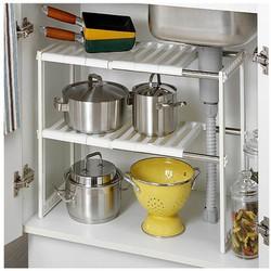 Kệ xếp để đồ 2 tầng đa năng tiện dụng dành cho nhà bếp