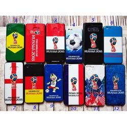 Ốp lưng Oppo A83 dẻo Viền đen hình World Cup 2018