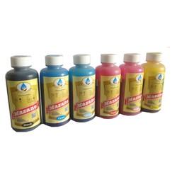 Mực in không phai Pigment UV 6 màu cho máy Epson 5110, 7110, L1800