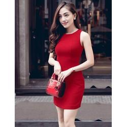 Đầm ôm body ngắn thiết kế đơn giản tôn dáng