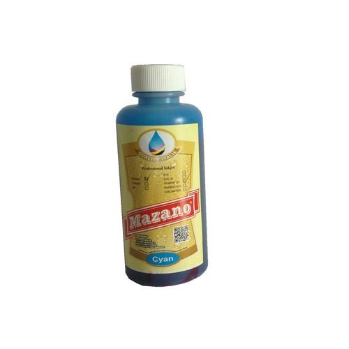 Mực in phun không phai Pigment UV màu xanh cho máy in Epson T50, T60