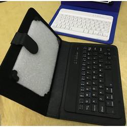 Bao da+Bàn phím Bluetooth cho điện thoại, I.pad và máy tính bảng