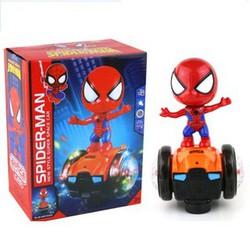 Đồ chơi người nhện lái xe thăng bằng