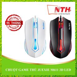 Chuột quang JUEXIE M611 3D LED có dây cực nhạy