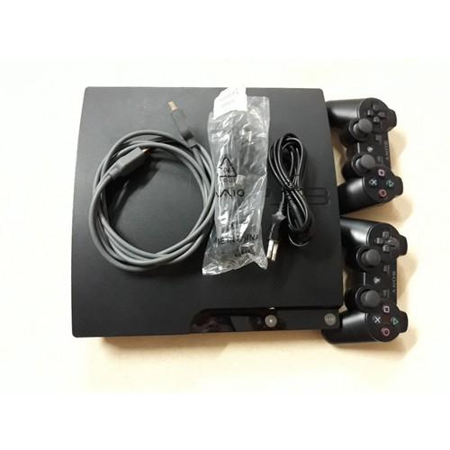 Máy ps3 Slim 20xx hack full + 2 tay 320gb