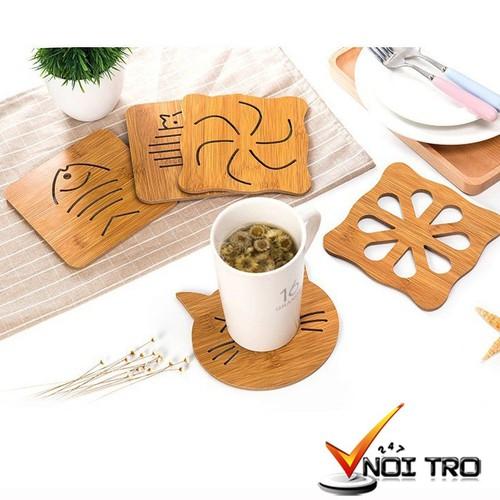 Combo Bộ 5 miếng lót ly, nồi- bằng gỗ- cách nhiệt, chống trơn trượt - 4131264 , 10263668 , 15_10263668 , 65000 , Combo-Bo-5-mieng-lot-ly-noi-bang-go-cach-nhiet-chong-tron-truot-15_10263668 , sendo.vn , Combo Bộ 5 miếng lót ly, nồi- bằng gỗ- cách nhiệt, chống trơn trượt
