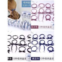Hộp chun cột tóc 12 mẫu