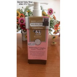Dưỡng thể Body Lotion Double Milk Triple White Glutathione