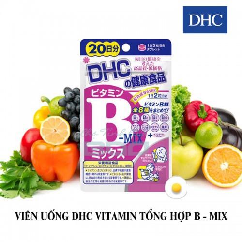Viên Uống Bổ Sung Vitamin B-MIX DHC Nhật Bản 20 Ngày - 4131609 , 10264077 , 15_10264077 , 135000 , Vien-Uong-Bo-Sung-Vitamin-B-MIX-DHC-Nhat-Ban-20-Ngay-15_10264077 , sendo.vn , Viên Uống Bổ Sung Vitamin B-MIX DHC Nhật Bản 20 Ngày