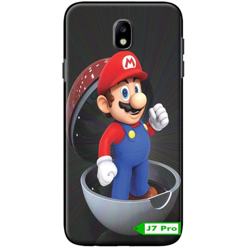 Ốp Samsung J7 Pro Mario Trong Trứng