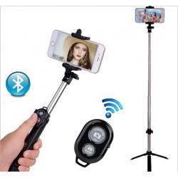 Gậy chụp ảnh Bluetooth có giá đỡ cho Điện thoại thông minh
