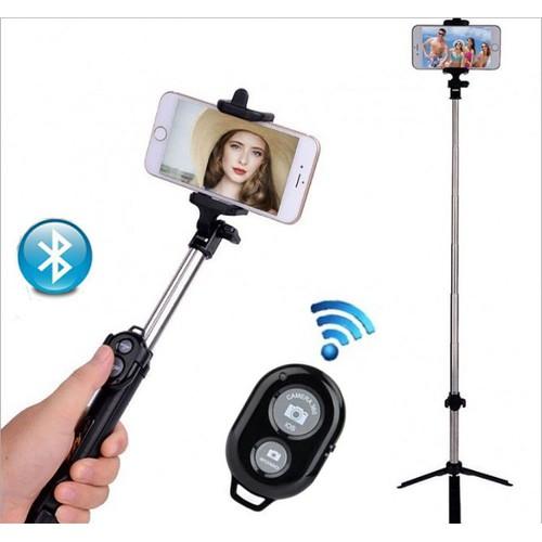 Gậy Chụp ảnh Bluetooth 3 trong 1 kèm chân đỡ - 4131698 , 10264318 , 15_10264318 , 120000 , Gay-Chup-anh-Bluetooth-3-trong-1-kem-chan-do-15_10264318 , sendo.vn , Gậy Chụp ảnh Bluetooth 3 trong 1 kèm chân đỡ