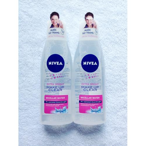 Nước tẩy trang NIVEA Extra Bright Make Up Clear - 4127444 , 10259414 , 15_10259414 , 120000 , Nuoc-tay-trang-NIVEA-Extra-Bright-Make-Up-Clear-15_10259414 , sendo.vn , Nước tẩy trang NIVEA Extra Bright Make Up Clear
