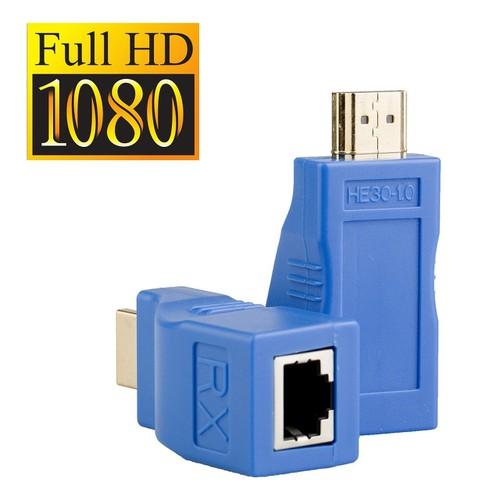 Bộ kéo dài tín hiệu HDMI 30m qua cáp mạng Cat5E Cat6 chuẩn RJ45 - 4130653 , 10263074 , 15_10263074 , 590000 , Bo-keo-dai-tin-hieu-HDMI-30m-qua-cap-mang-Cat5E-Cat6-chuan-RJ45-15_10263074 , sendo.vn , Bộ kéo dài tín hiệu HDMI 30m qua cáp mạng Cat5E Cat6 chuẩn RJ45