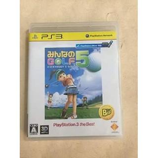 ĐĨA Minna no Golf 5 PlayStation3 the Best PS3 - hyhdh thumbnail