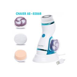Máy massage và rửa mặt pin sạc cao cấp CNAIER AE-8286B 4 đầu Loại 1