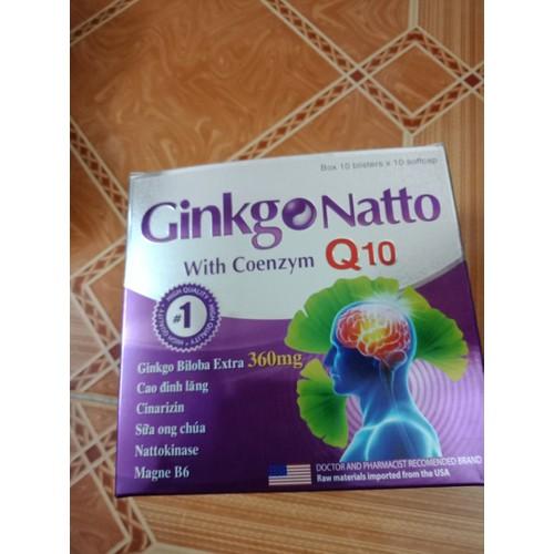 Ginkgo Natto Q10 bổ não tăng cường trí nhớ