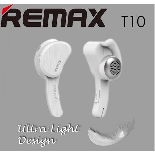 Tai nghe một bên Bluetooth V4.1 Remax RB-T10 màu Trắng