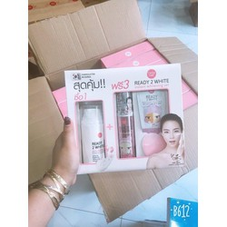 Bộ 3 SP CATHY DOLL READY 2 WHITE MILKY WHITE CREAM PACK