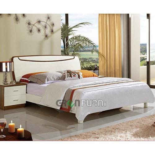 Bộ giường ngủ hiện đại nhập khẩu cao cấp GreenFurni 222