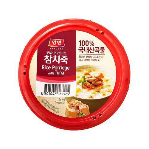 Cháo Ăn Liền Vị Cá Ngừ Yangban Rice Porridge With Tuna 287.5g