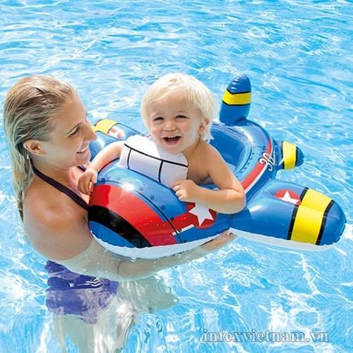 phao bơi xỏ chân hình xe cho bé