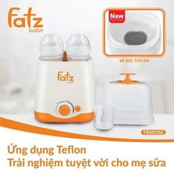 Máy hâm nóng sữa và tiệt trùng 2 bình Fatz - FB3012SL