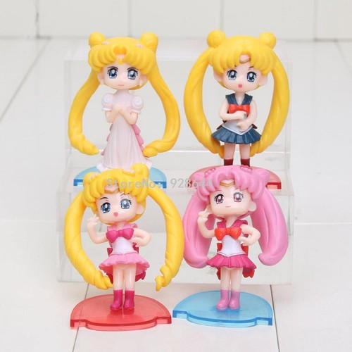 Bộ 04 Mô Hình Thủy Thủ Mặt Trăng Sailor Moon - 4139084 , 10274350 , 15_10274350 , 99000 , Bo-04-Mo-Hinh-Thuy-Thu-Mat-Trang-Sailor-Moon-15_10274350 , sendo.vn , Bộ 04 Mô Hình Thủy Thủ Mặt Trăng Sailor Moon