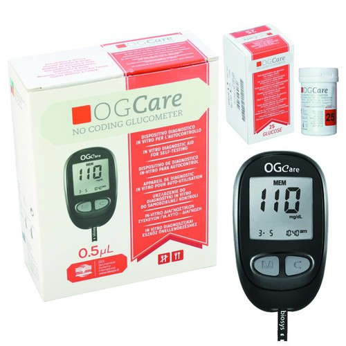 Máy đo đường huyết Ogcare - 4138726 , 10273922 , 15_10273922 , 795000 , May-do-duong-huyet-Ogcare-15_10273922 , sendo.vn , Máy đo đường huyết Ogcare