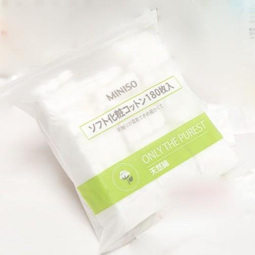 Bông Tẩy Trang túi Miniso Nhật Bản 180 Miếng - 4145362 , 10282154 , 15_10282154 , 70000 , Bong-Tay-Trang-tui-Miniso-Nhat-Ban-180-Mieng-15_10282154 , sendo.vn , Bông Tẩy Trang túi Miniso Nhật Bản 180 Miếng