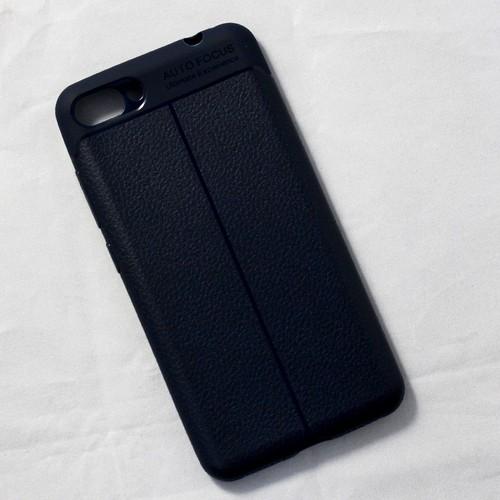 Ốp lưng sần Zenfone 4 Max Pro dẻo xanh đen