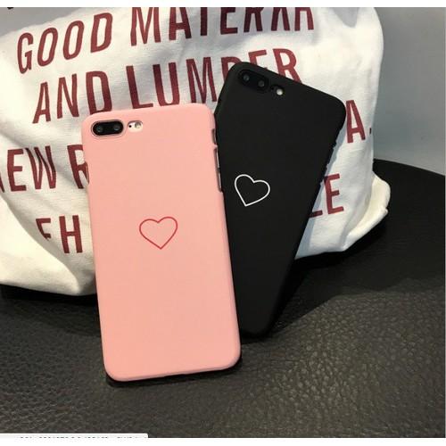 Ốp Tim iPhone 6 6s Ốp đôi đẹp màu hồng Ốp cứng