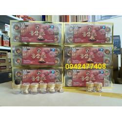 Sét 10 hộp viên hồng sâm thuốc bắc