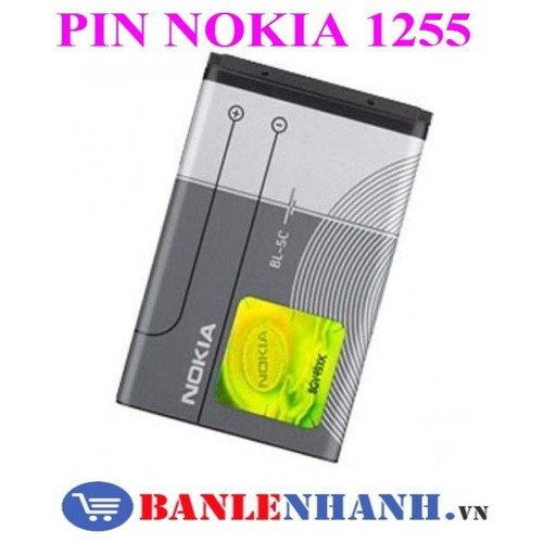 PIN NOKIA 1255 - 4147721 , 10286072 , 15_10286072 , 80000 , PIN-NOKIA-1255-15_10286072 , sendo.vn , PIN NOKIA 1255