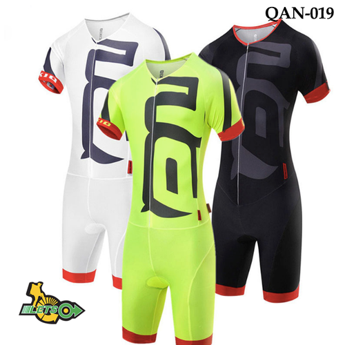 Quần áo nữ xe đạp liền thân 3 môn phối hợp