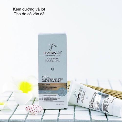 Kem trắng da mặt chuyên sâu Pharmacos Vitex