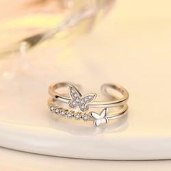 Nhẫn nữ con bướm