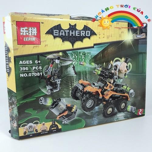 Bộ lắp ghép thông minh Bathero NO.07081 KE468