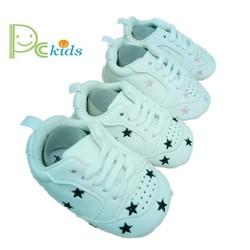 Giày bata tập đi thêu ngôi sao