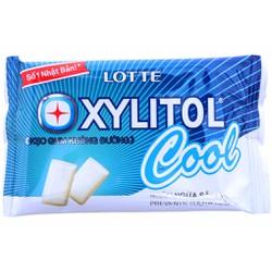 KẸO GUM LOTTE XYLITOL VĨ COOL MINT HỘP 15 VĨ