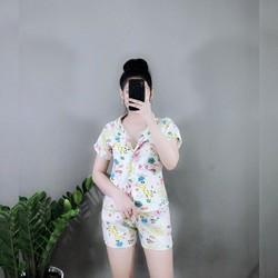 Pijama Thái Mềm Mịn  thoáng mát hoạt hình