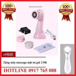 Máy massage rửa mặt
