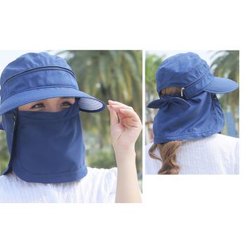 mũ chống nắng 360, mũ chống nắng đa năng, nón khẩu trang
