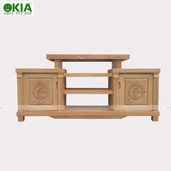 Kệ tủ tivi gỗ sồi, gỗ xoan