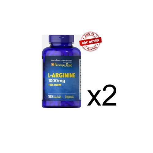 Thực phẩm chức năng cao cấp bộ 2 viên uống giải độc gan L-Arginnine
