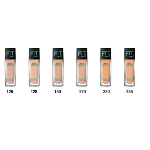 Maybeline-Fit me foundation kem nền tự nhiên tiệp màu da-màu: 130