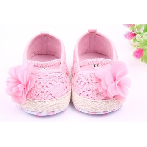 Giày tập đi cho bé gái hình hoa