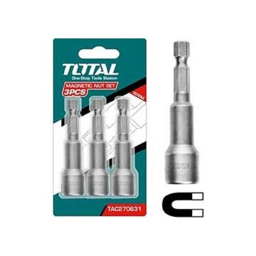 Bộ 3 mũi bắt Vít bắn tôn Total TAC270831 - 4145098 , 10281978 , 15_10281978 , 55000 , Bo-3-mui-bat-Vit-ban-ton-Total-TAC270831-15_10281978 , sendo.vn , Bộ 3 mũi bắt Vít bắn tôn Total TAC270831